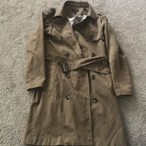 Top shop belted trench coat